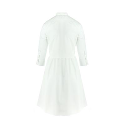ribbon shirts dress white